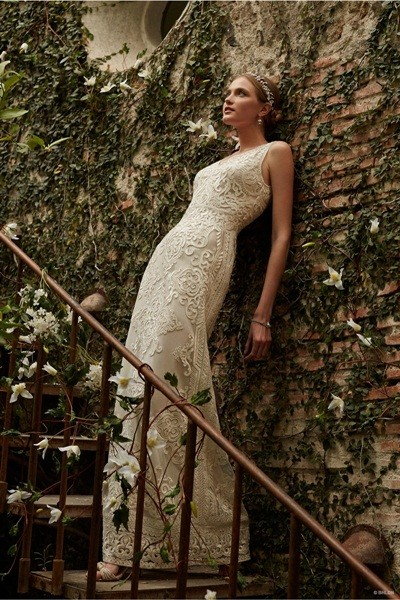 Váy cưới ren 'siêu' lãng mạn cho cô dâu  - ảnh 11