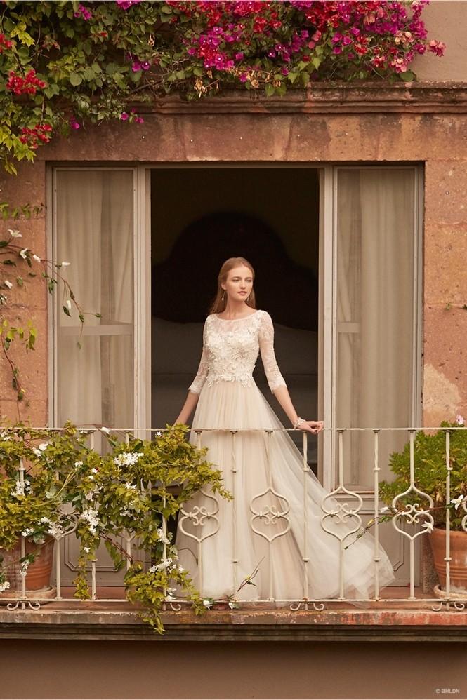 Váy cưới ren 'siêu' lãng mạn cho cô dâu  - ảnh 13