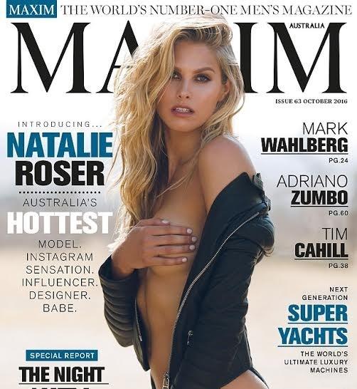 Natalie Roser, Maxim - ảnh 8