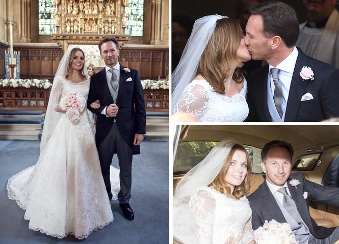 Spice Girls, Emma Bunton, Geri Horner, Geri Halliwell, Ginger Spice, Baby Spice, mang bầu, kết hôn, tay đua công thức 1 Christian Horner - ảnh 6