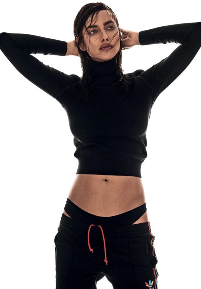 thời trang,siêu mẫu,người đẹp,vẻ đẹp,phong cách,tạp chí,gương mặt,Irina Shayk, Bradley Cooper, vòng eo con kiến, CR7, siêu mẫu xứ bạch dương - ảnh 6