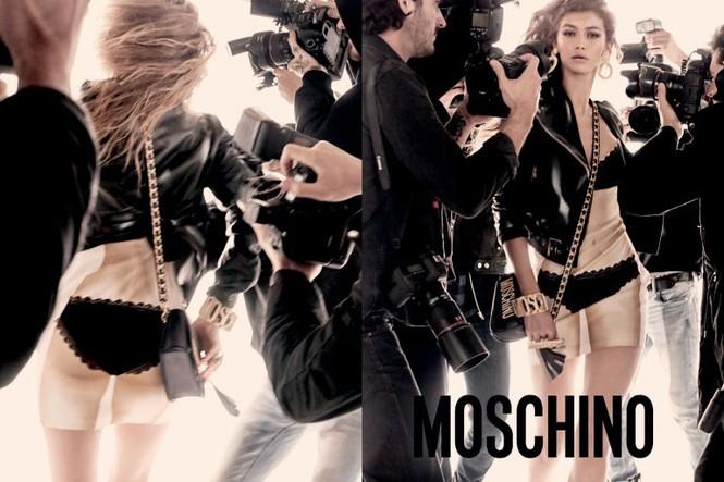 trang phục,nhà thiết kế,gương mặt,quảng cáo,chân dài,bộ ảnh,Chanel,gợi cảm, Gigi Hadid, Bella Hadid, Fendi, Moschino, Steven Meisel, Jeremy Scott, Chanel, Karl Lagerfeld, Max Mara - ảnh 5