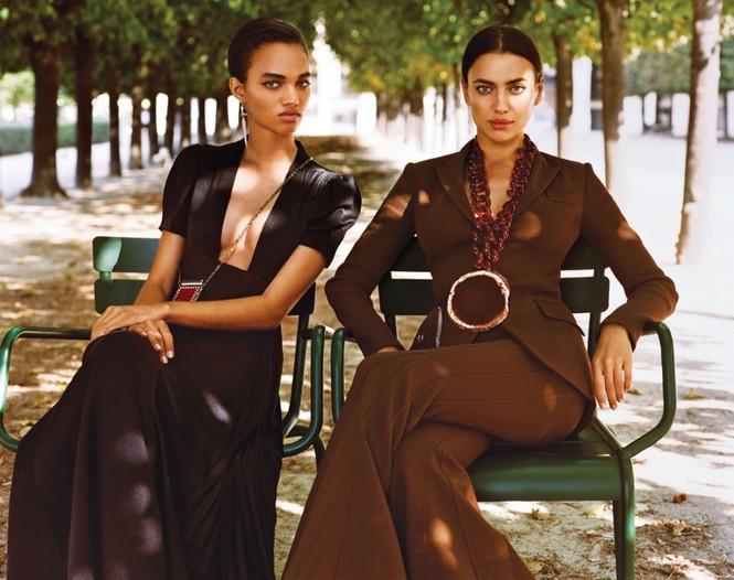 thời trang,siêu mẫu,người mẫu,gương mặt,Irina Shayk,quảng cáo,chân dài,thiên thần nội y, Stella Maxwell, Ellen Rosa, Vittoria Ceretti - ảnh 19