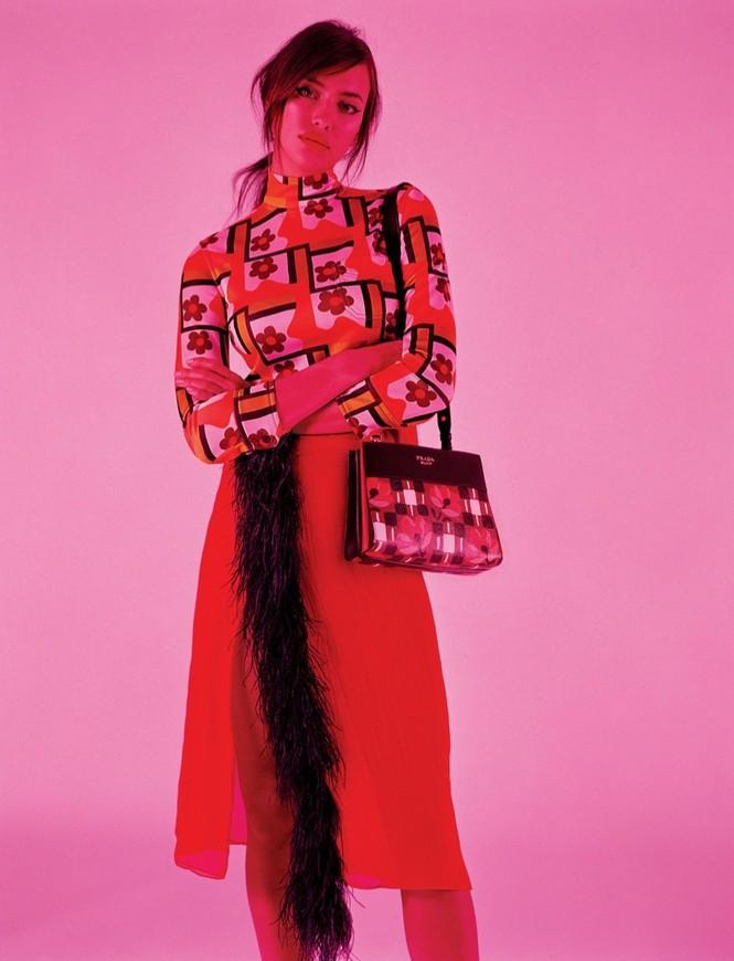 thời trang,siêu mẫu,người mẫu,gương mặt,Irina Shayk,quảng cáo,chân dài,thiên thần nội y, Stella Maxwell, Ellen Rosa, Vittoria Ceretti - ảnh 2