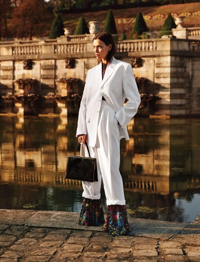 thời trang,siêu mẫu,người mẫu,gương mặt,Irina Shayk,quảng cáo,chân dài,thiên thần nội y, Stella Maxwell, Ellen Rosa, Vittoria Ceretti - ảnh 12