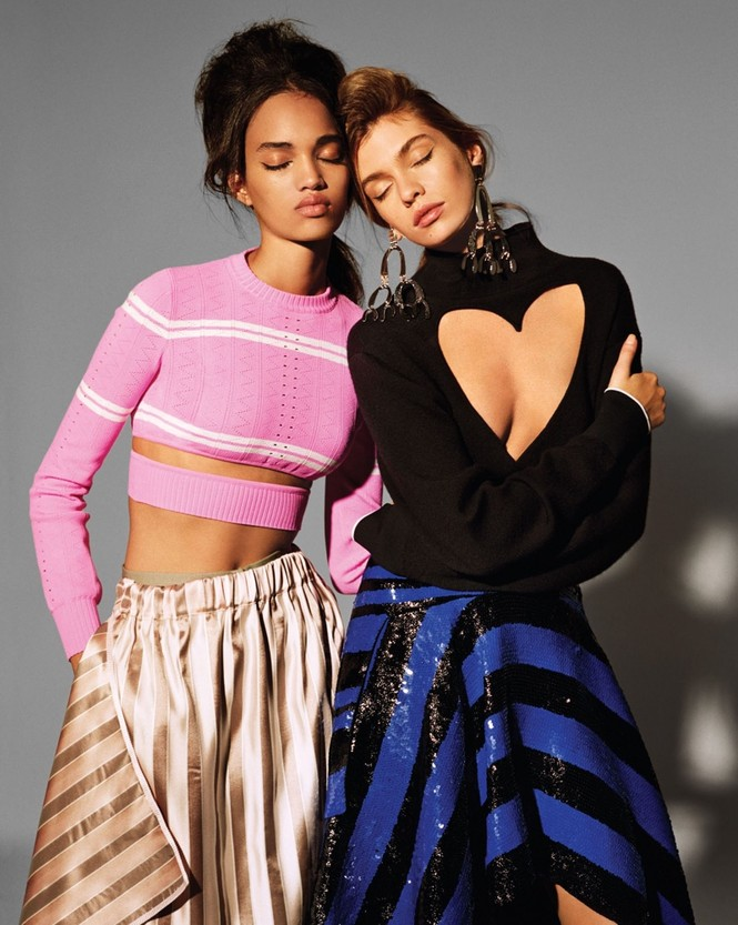 thời trang,siêu mẫu,người mẫu,gương mặt,Irina Shayk,quảng cáo,chân dài,thiên thần nội y, Stella Maxwell, Ellen Rosa, Vittoria Ceretti - ảnh 18