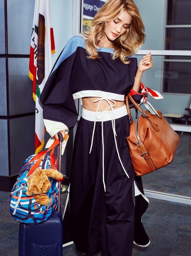 người đẹp,quyến rũ,tạp chí,gương mặt,quảng cáo,chân dài,hãng thời trang,bộ ảnh, Người vận chuyển, Jason Statham, Rosie Huntington-Whiteley, In Style, Paige Denim - ảnh 5