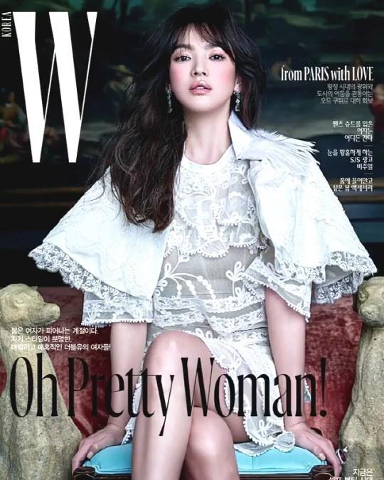 Song Hye Kyo vai trần gợi cảm tại tuần lễ thời trang London - ảnh 10