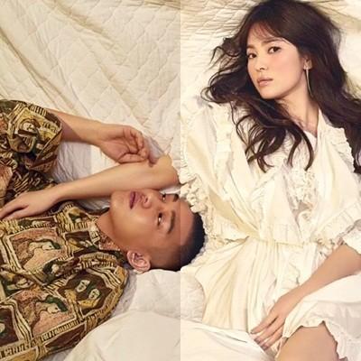 Song Hye Kyo vai trần gợi cảm tại tuần lễ thời trang London - ảnh 9