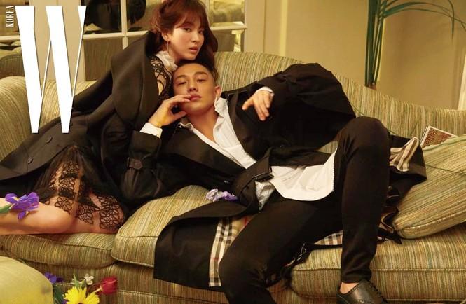 Song Hye Kyo yêu kiều xinh đẹp bên trai trẻ Yoo Ah In - ảnh 7