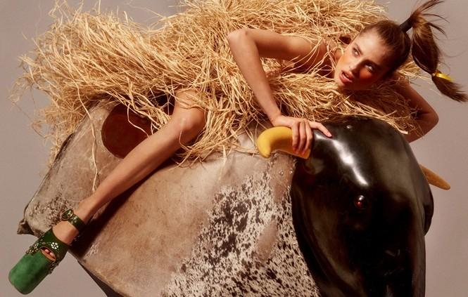 Xao xuyến sắc vóc quyến rũ của 'đóa hồng' Taylor Hill - ảnh 38