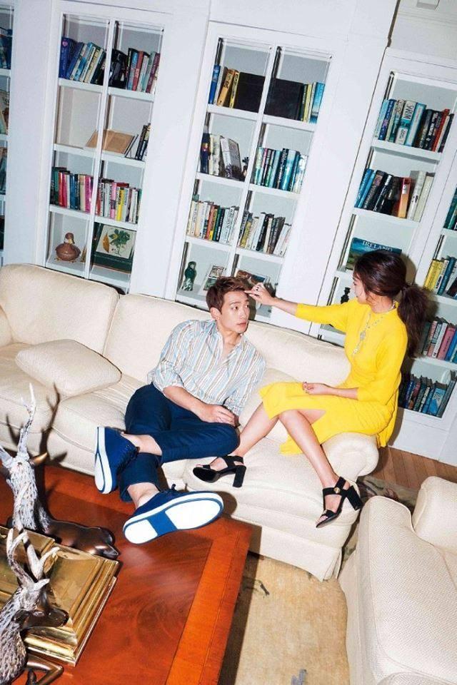 Vợ chồng Kim Tae Hee ngọt ngào tình tứ - ảnh 8