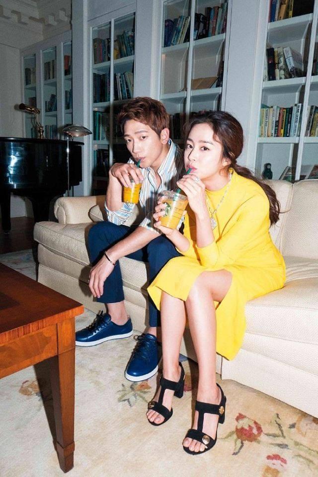 Vợ chồng Kim Tae Hee ngọt ngào tình tứ - ảnh 6