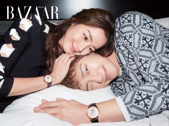 Vợ chồng Kim Tae Hee ngọt ngào tình tứ - ảnh 1