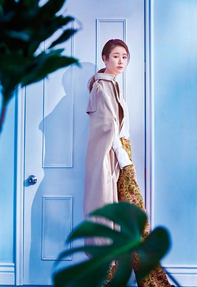 Nhan sắc trong trẻo dịu dàng của người đẹp Lâm Tâm Như - ảnh 4