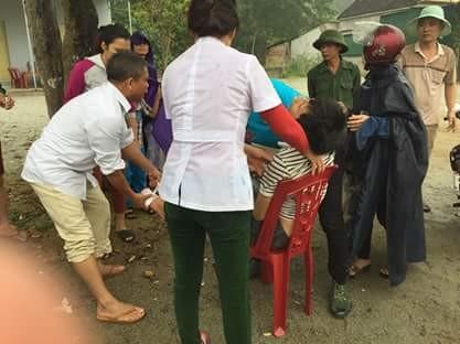 Những hình ảnh hiện trường lạnh gáy vụ lật xe khách ở Hà Tĩnh - ảnh 7