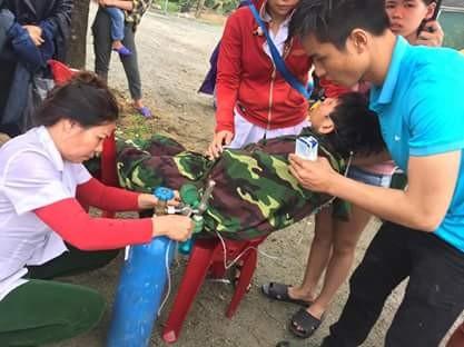 Những hình ảnh hiện trường lạnh gáy vụ lật xe khách ở Hà Tĩnh - ảnh 8