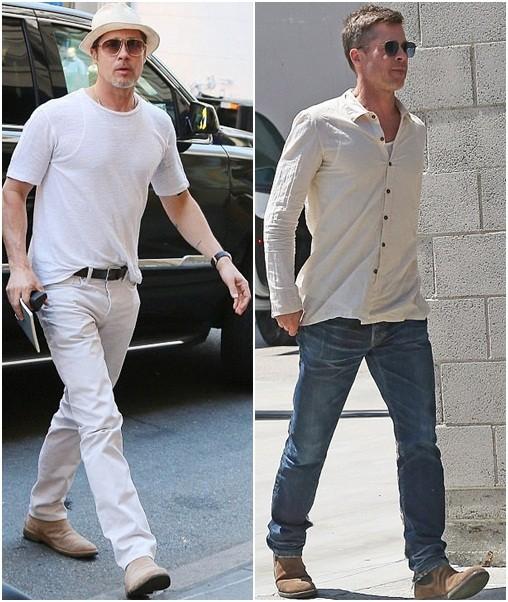 7 tháng chia tay Jolie, Brad Pitt gầy rộc, già đi trông thấy - ảnh 2