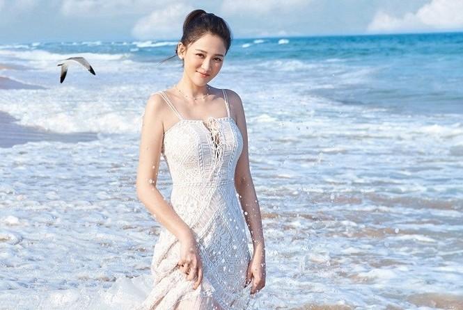 'Đông Phương Bất Bại' Trần Kiều Ân siêu quyến rũ khi làm cô dâu - ảnh 20
