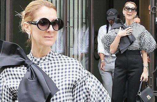 Celine Dion sành điệu với váy lấy cảm hứng từ nội y - ảnh 8