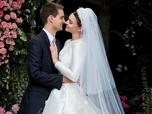 đám cưới Miranda Kerr - Evan Spiegel - ảnh 5
