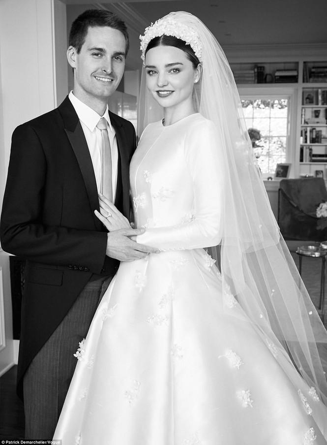 đám cưới Miranda Kerr - Evan Spiegel - ảnh 3