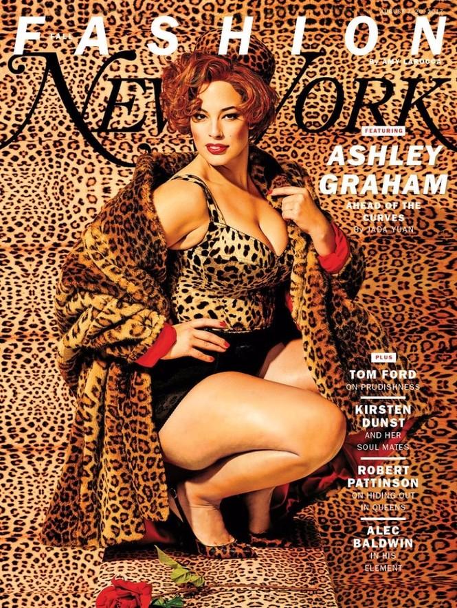 Đường cong bốc lửa của cô béo quyến rũ Ashley Graham - ảnh 6