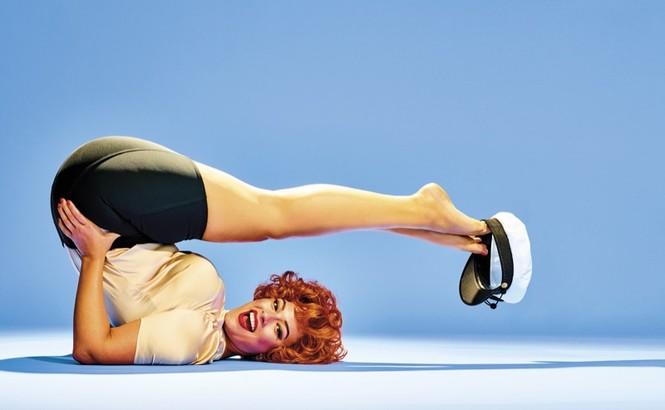 Đường cong bốc lửa của cô béo quyến rũ Ashley Graham - ảnh 4