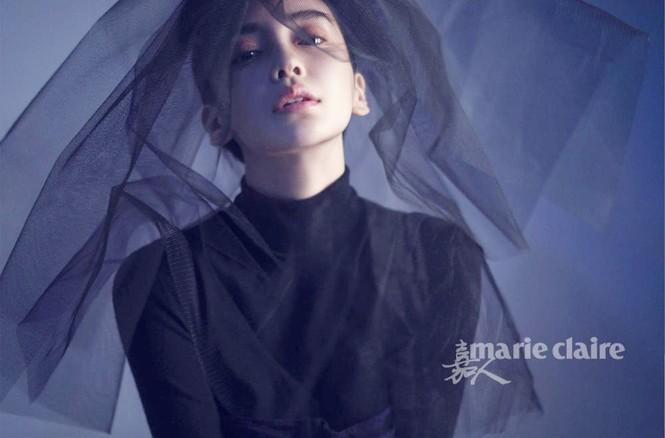 'Công chúa' Angelababy gây ấn tượng mạnh với loạt ảnh ma mị  - ảnh 1