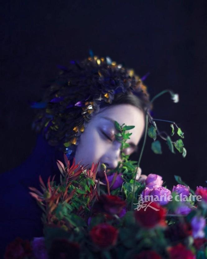 'Công chúa' Angelababy gây ấn tượng mạnh với loạt ảnh ma mị  - ảnh 6