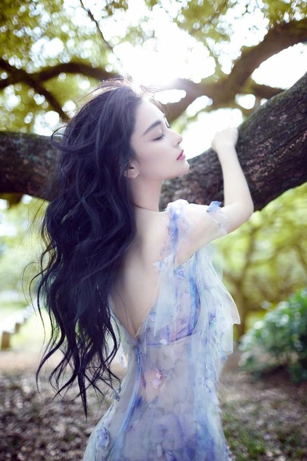 'Lý Mạc Sầu' Trương Hinh Dư xinh đẹp như tiên nữ - ảnh 2