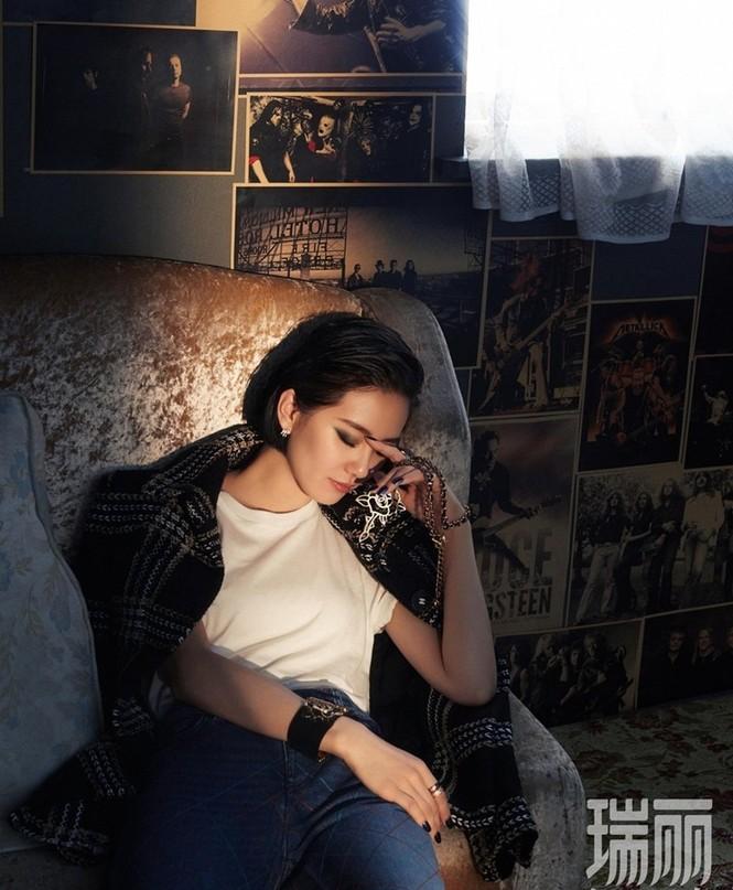 'Tiên nữ' Lưu Thi Thi quyến rũ ở mọi góc nhìn - ảnh 3
