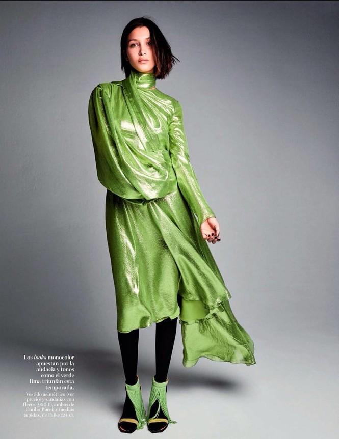 'Chân dài' Bella Hadid sắc vóc quá đỗi gợi cảm - ảnh 16