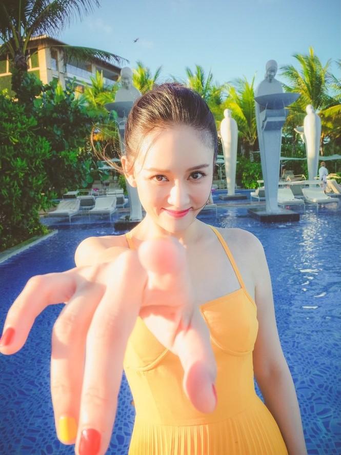 'Đông Phương Bất Bại' Trần Kiều Ân siêu quyến rũ khi làm cô dâu - ảnh 18
