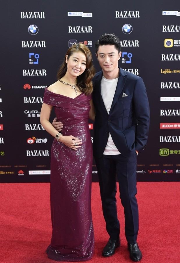 Dàn mỹ nhân Hoa ngữ rực rỡ, vợ chồng Lâm Tâm Như ôm eo tình tứ - ảnh 9