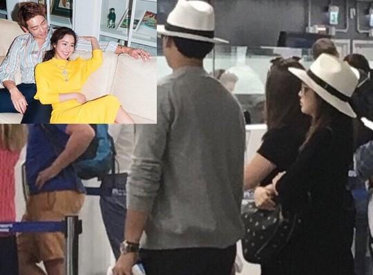 Hậu chụp ảnh cưới, Song Joong Ki và Song Hye Kyo trở về từ Mỹ - ảnh 6