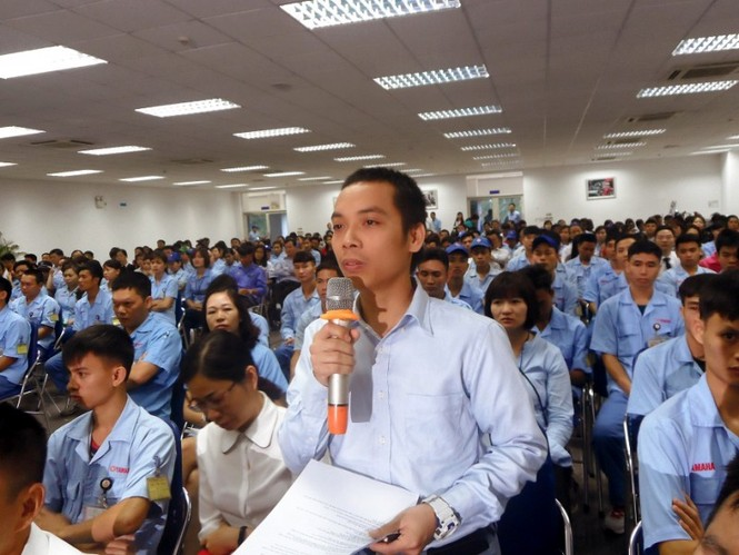 KCN, KCX, chủ tịch chung, đối thoại công nhân, KCN Thăng Long, KCN Nội Bài - ảnh 1