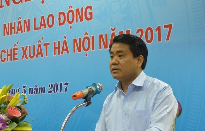 KCN, KCX, chủ tịch chung, đối thoại công nhân, KCN Thăng Long, KCN Nội Bài - ảnh 3