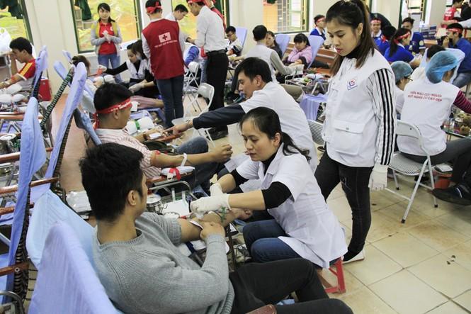 Đoàn viên thanh niên sôi nổi hưởng ứng Chủ Nhật Đỏ tại Thái Nguyên - ảnh 2