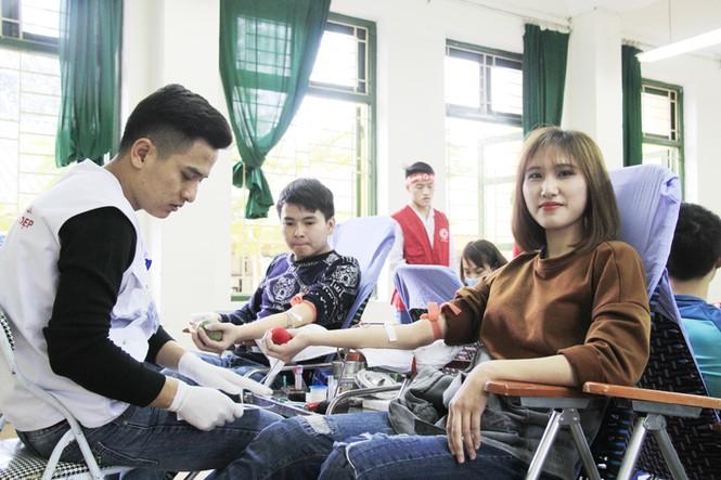 Đoàn viên thanh niên sôi nổi hưởng ứng Chủ Nhật Đỏ tại Thái Nguyên - ảnh 7