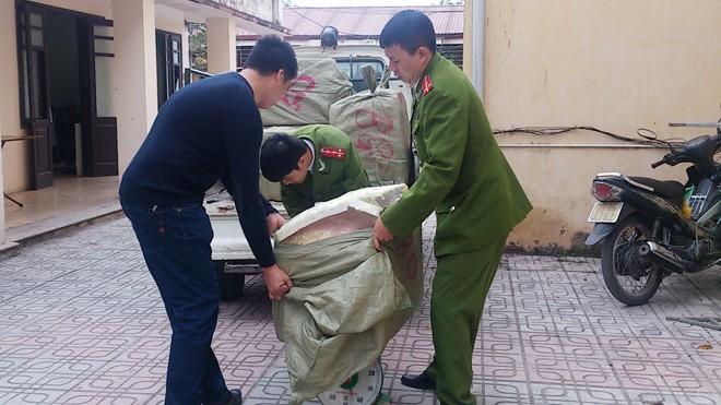 Hà Nội: Bắt số lượng lớn nầm lợn thối - ảnh 2