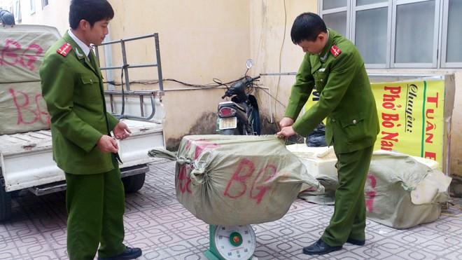 Hà Nội: Bắt số lượng lớn nầm lợn thối - ảnh 3