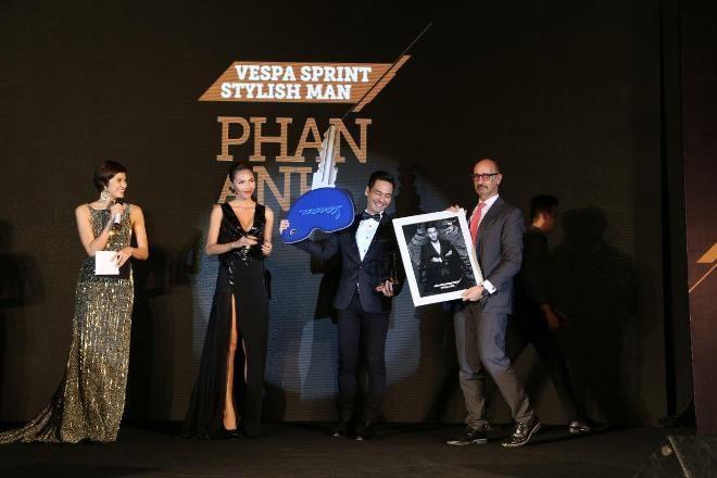 MC Phan Anh đoạt giải 'Người đàn ông phong cách của năm' - ảnh 1