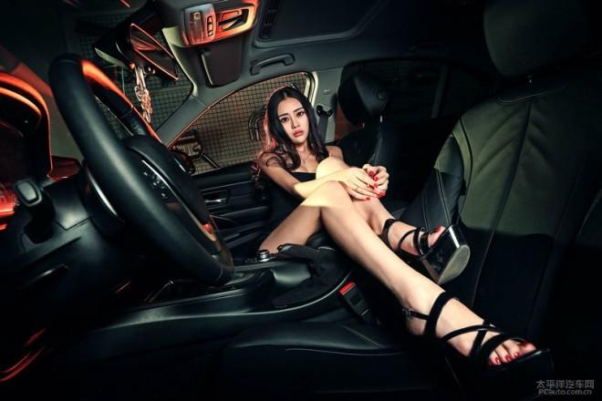 Loạn nhịp tim với mỹ nhân bên xế sang BMW - ảnh 12