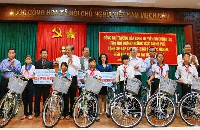 Phó Thủ tướng Trương Hòa Bình chúc Tết sớm đồng bào Đắk Lắk - ảnh 1
