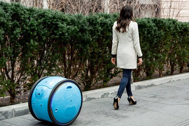 Xe chở đồ thông minh tự động theo chân chủ - ảnh 3