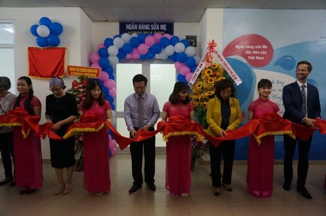 Việt Nam có ngân hàng sữa mẹ đầu tiên - ảnh 1