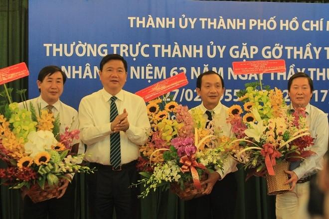 Bí thư Đinh La Thăng mong muốn TPHCM có giải Nobel Y học - ảnh 1