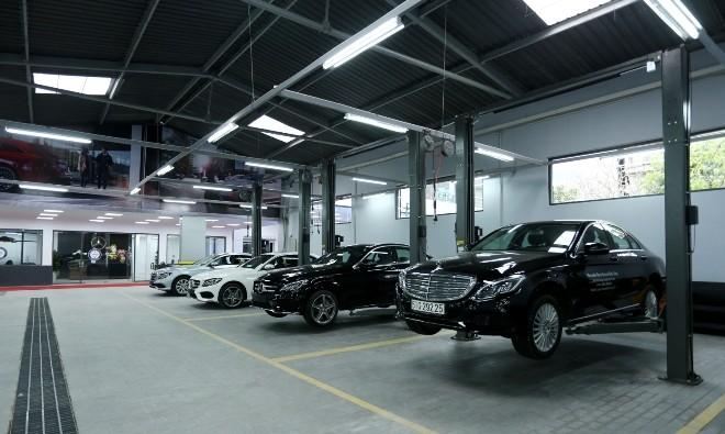 Mercedes-Benz mở thêm showroom tại Hà Nội - ảnh 1
