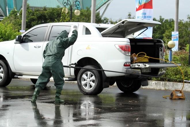 Lực lượng đặc biệt diễn tập ứng phó sự cố hạt nhân - ảnh 9